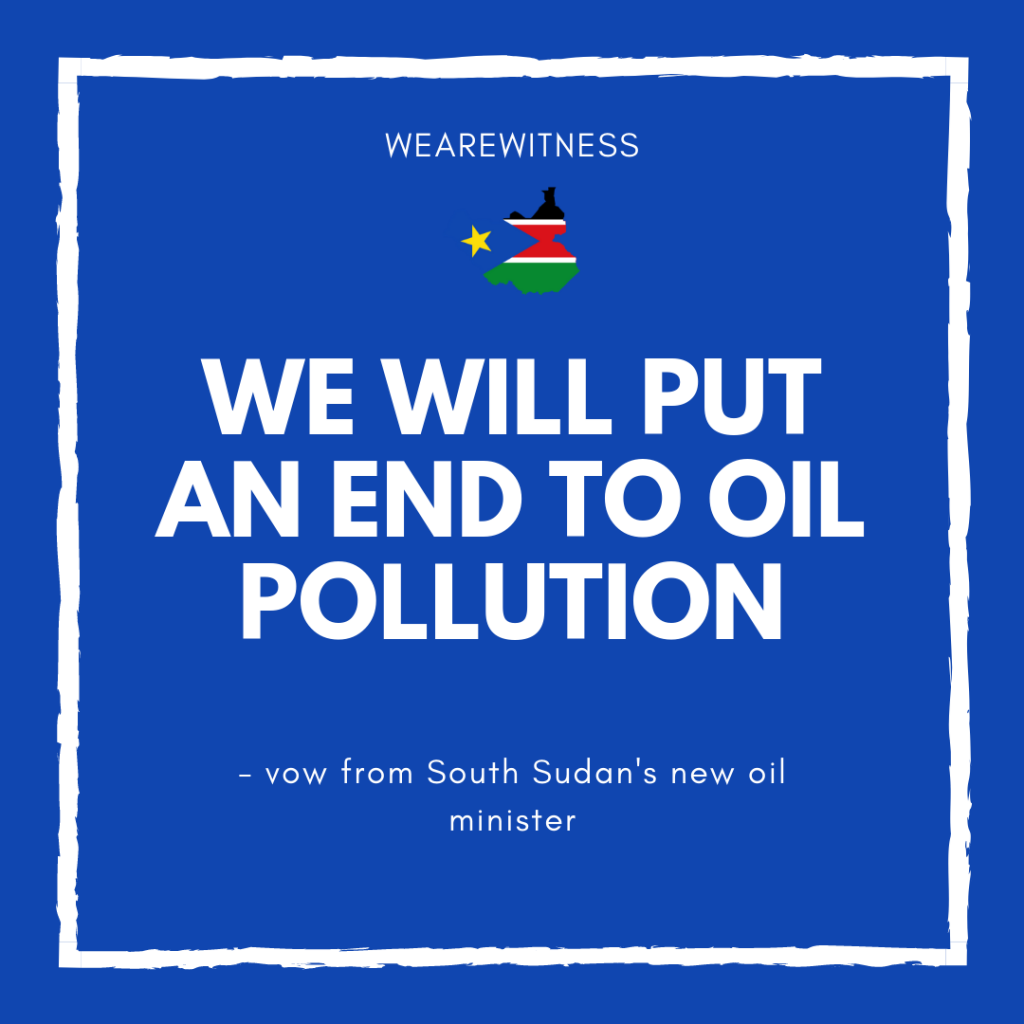 We will put an end to oil pollution