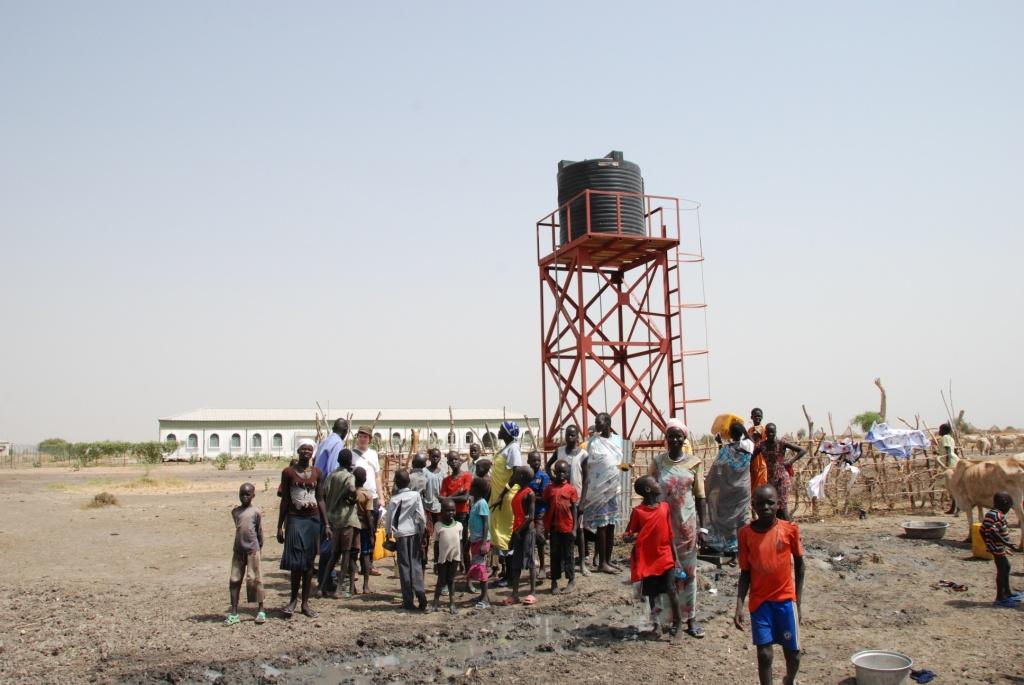 Nhyaldiu - Tiefbrunnen als nachhaltige Lösung zur Wasserversorgung