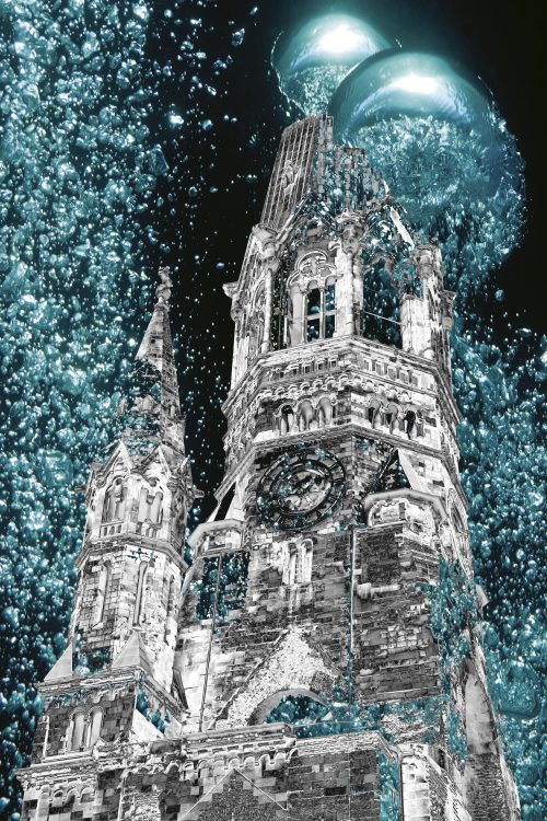 Sparkling Church 30x45cm