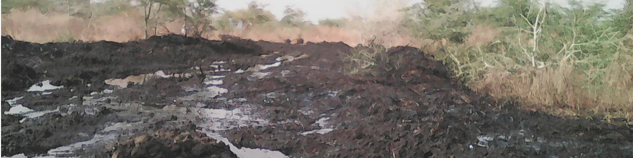 Oil-mudslides rolling over South Sudan
