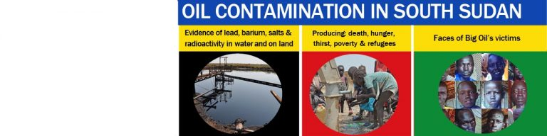 Oil contamination killing South Sudan