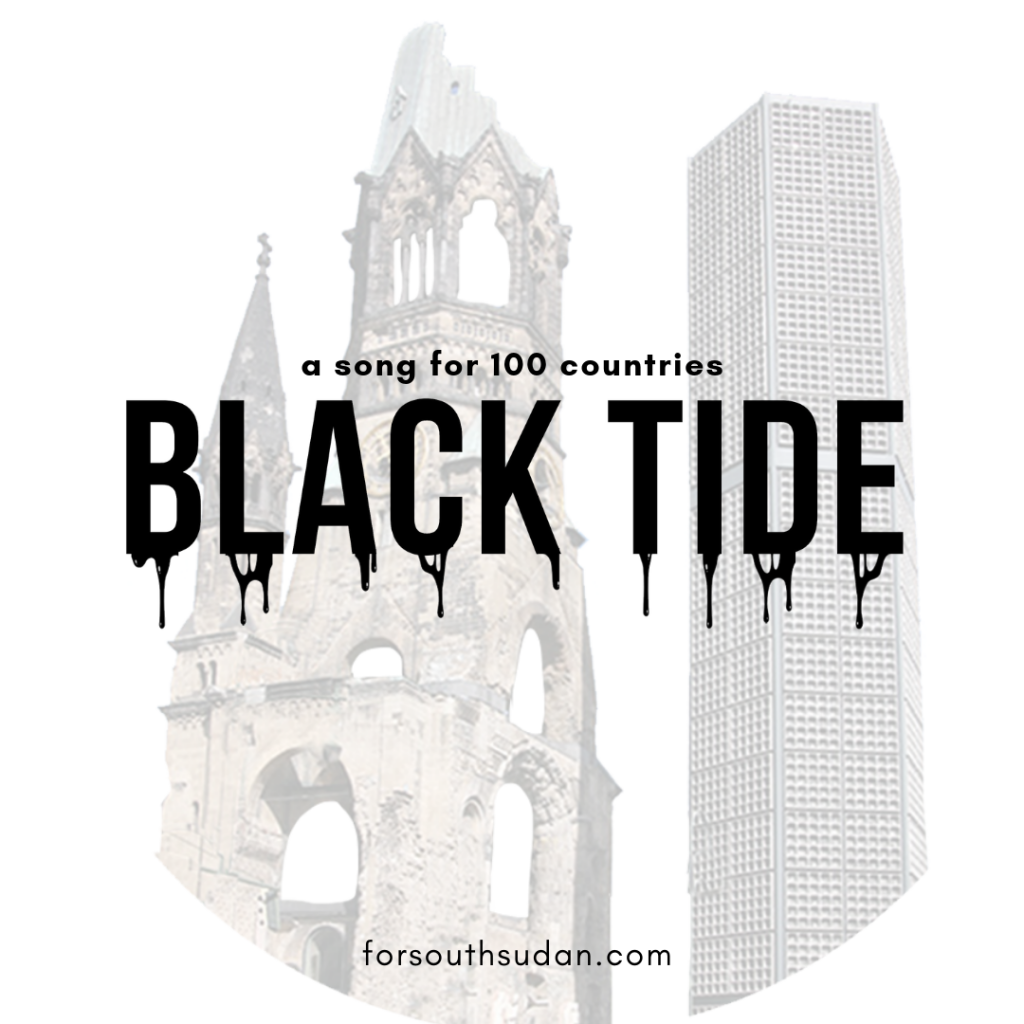 Black Tide' - a song for 100 countries