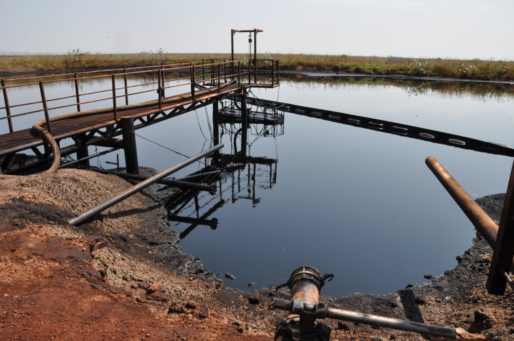 Ölfeld Unity - FPF Al Nar - Öltümpel