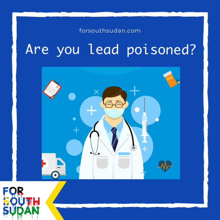 Are you lead poisoned?