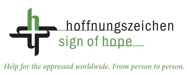 Hoffnungszeichen sign of hope