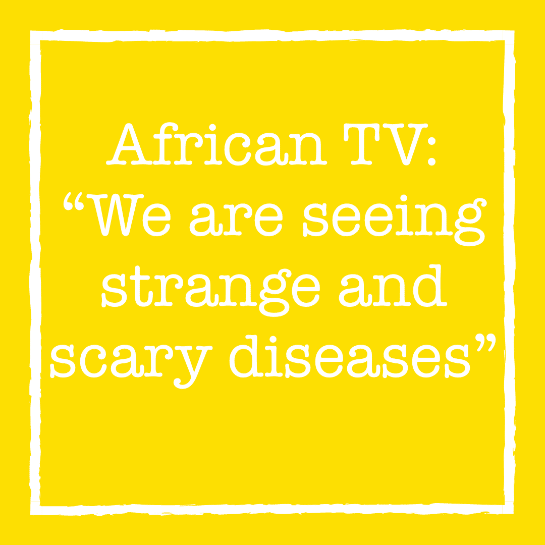 """Broadcast on oil pollution in South Sudan in African TV: """"We are seeing strange and scary diseases"""""""