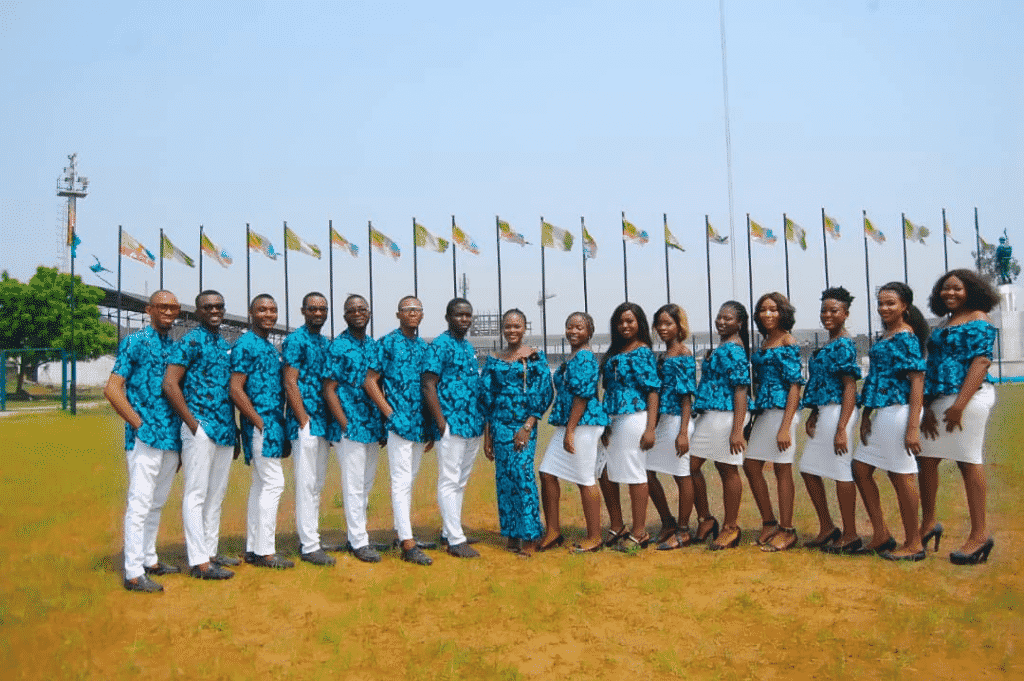 The Owerri Philarmonic Ensemble from Nigeria's uplifting version