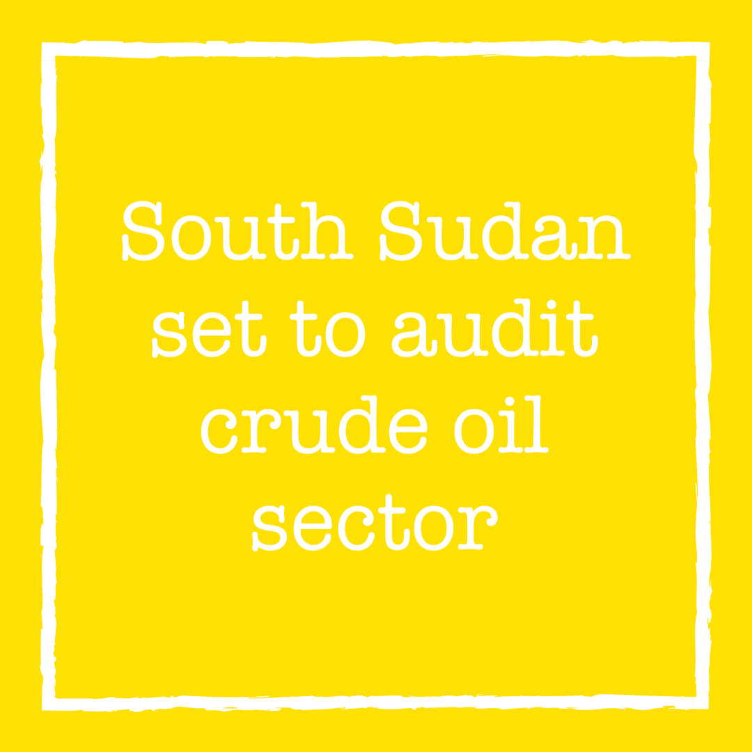 South Sudanese official: audit to force oil companies to account for mess
